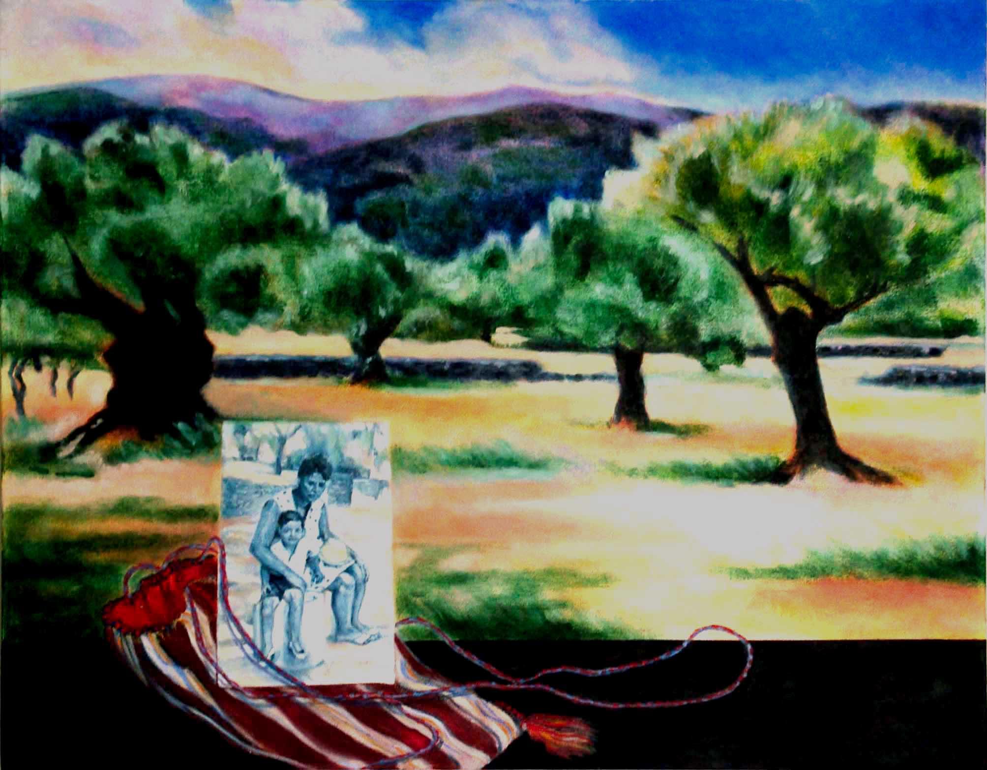 Diakaki Olive Grove, Mother and Child